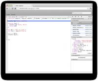 図1 node-inspectorの画面