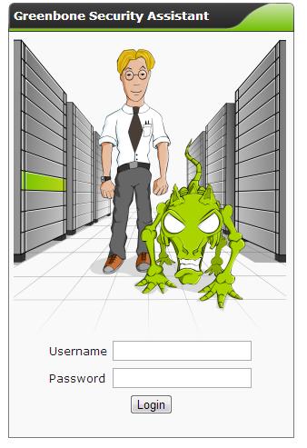 図1 GSAへのログイン画面