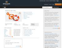 図1 Cookbookを公開しているOpscodeのコミュニティサイト