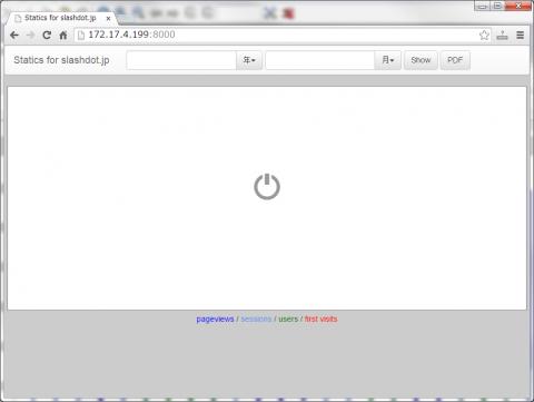 図32 サンプルアプリケーションのトップ画面