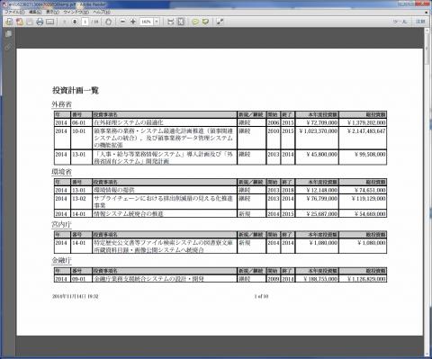 図22 PDF形式で出力したレポート