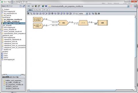 図18 「設計」タブにプロセッサを配置する