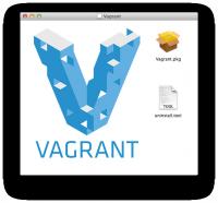 図2 Mac OS X向けのVagrant配布パッケージ。インストーラが含まれている