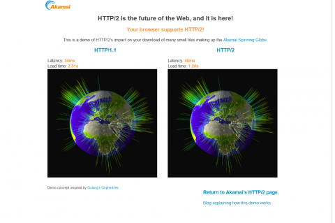 図4 HTTP/2のデモページ