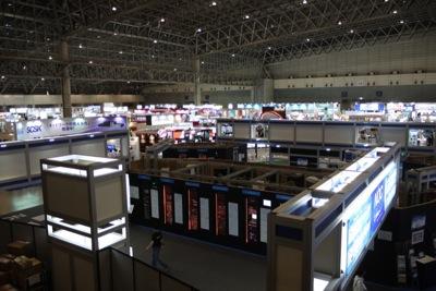 写真1 Interop Tokyo 2012・ホール5の様子