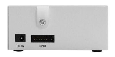 図7 OpenBlocks A6の前面にはGPIO端子が用意されている