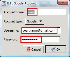 図6 Googleに登録したユーザー名とパスワードを入力