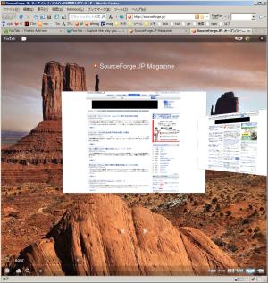 図11 画面左下の虫眼鏡アイコンをクリックするとテキスト入力ボックスが表示され、タイトルもしくはURLで表示するサムネイルを絞り込める