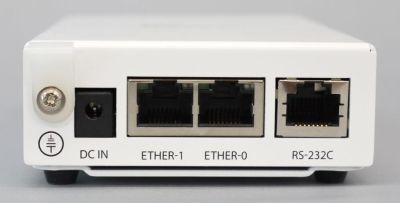 写真5 OpenBlockS 600が備えるインターフェイス(背面)