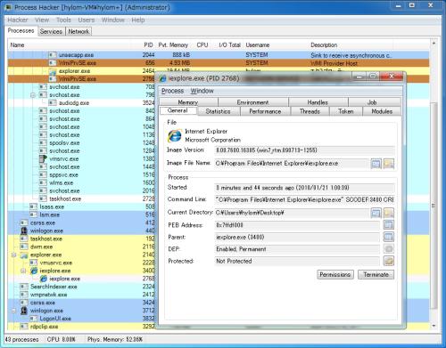 Process Hacker 1.10