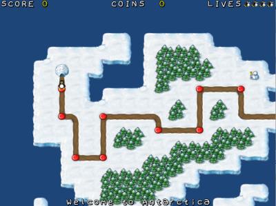 図5 「スーパーマリオブラザーズ」風の横スクロールアクションゲーム「Super Tux」