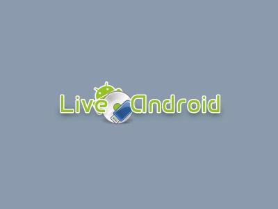 図1 Live Androidのブート画面