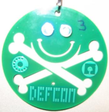 DEFCON 14 badge