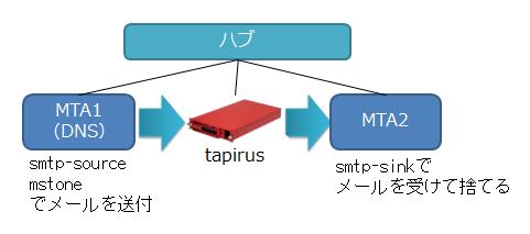図5 テストの構成