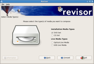 Revisor: Media Selection