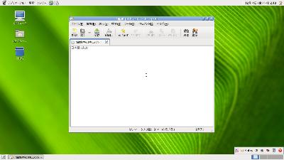 図5 GNOMEの日本語デスクトップ