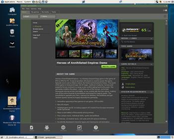 A Steam-powered game