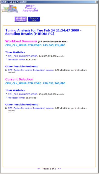 図14 パフォーマンス低下の原因を分析・表示する「Intel Tuning Assistant」