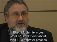 Eben Moglen talks about the GPLv3 draft process