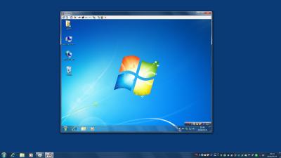 図11 クライアントPCからサーバーPCをリモート操作できる