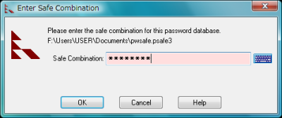 図13 放っておくと自動的にロックがかかるので、他人にパソコンをのぞき見されてもパスワードは守られる