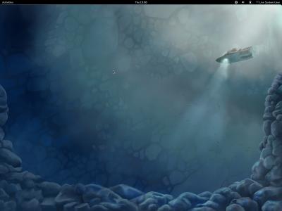 図5 Feora 16のデスクトップ画面