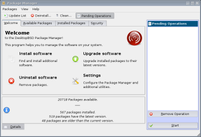 図13 Package Manager