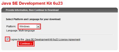 図4 OSを選んでからライセンス同意のチェックを入れる