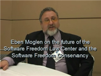 Eben Moglen on the Software Freedom Law Center