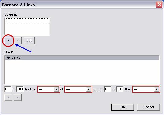 図4 「Screens & Linuks」画面。左上の「+」ボタンで共有対象とするPCを追加する