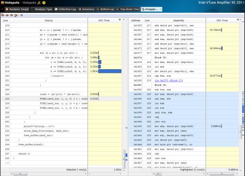 図4 Visual Studio 2010でコンパイルしたバイナリコード