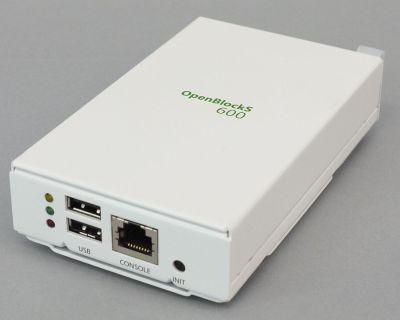 写真1 OpenBlockSの新モデル「OpenBlockS 600」