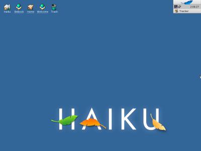 図1 オープンソースのBeOS互換OS「Haiku」
